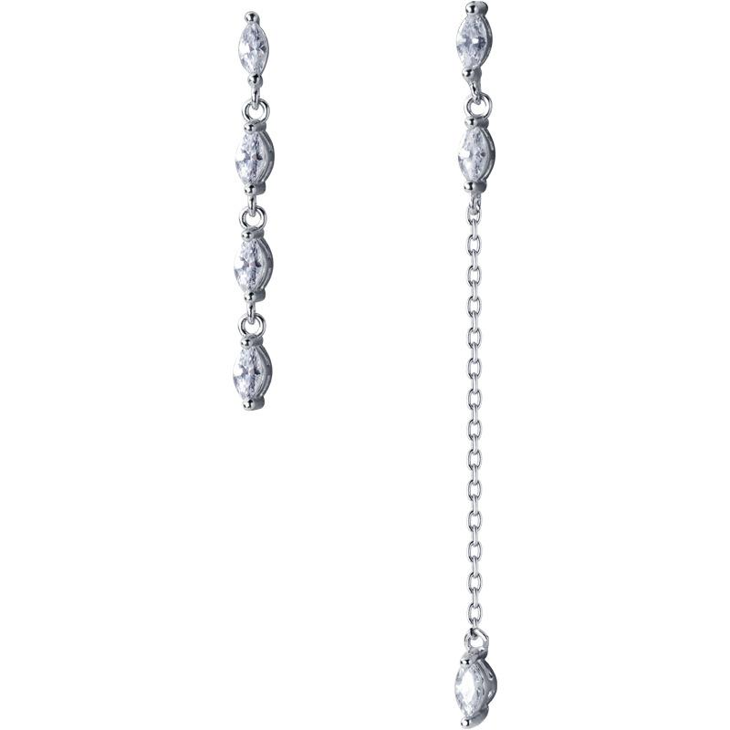 Gia Crystal Long Earrings