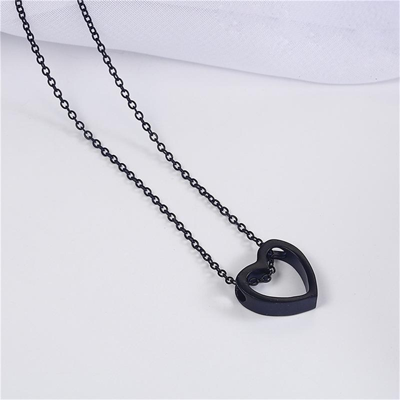 Heart in Chain Necklace