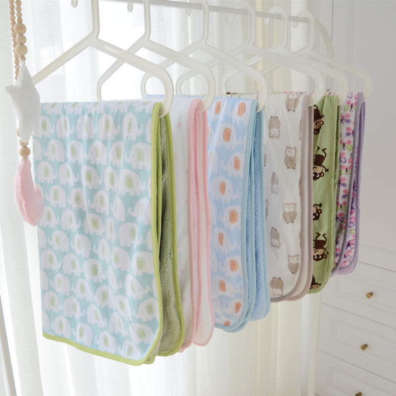 Soft Printed Blankets for Children