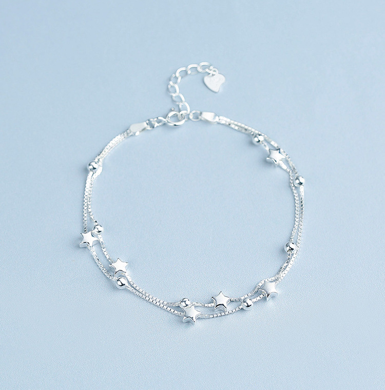 Brilliant Simple Anklet for Birthday Parties