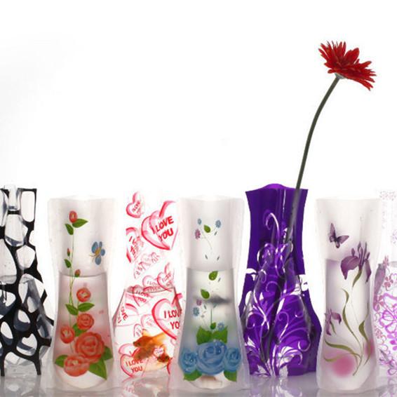 Stylish Foldable Flower Vase for Flower Arrangement