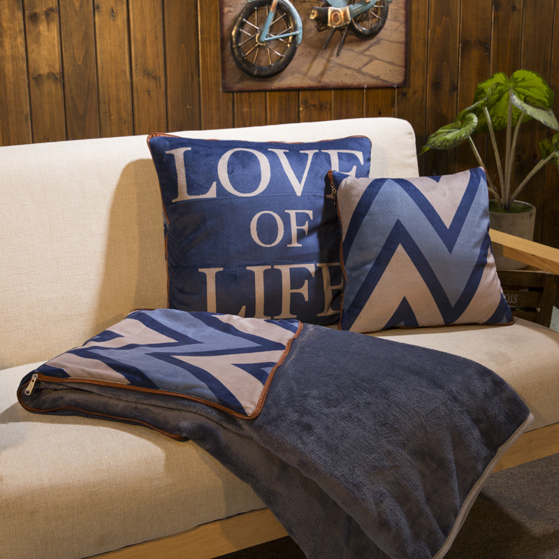 Duant Dual Blanket-Pillow Collection