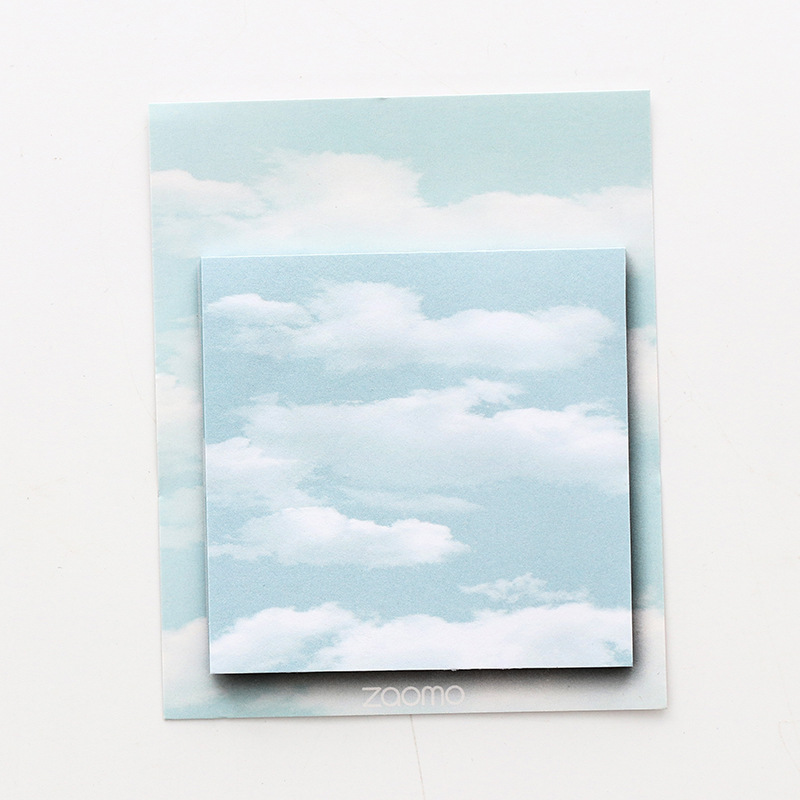 Calming Sky Sticky Notes for School and Office