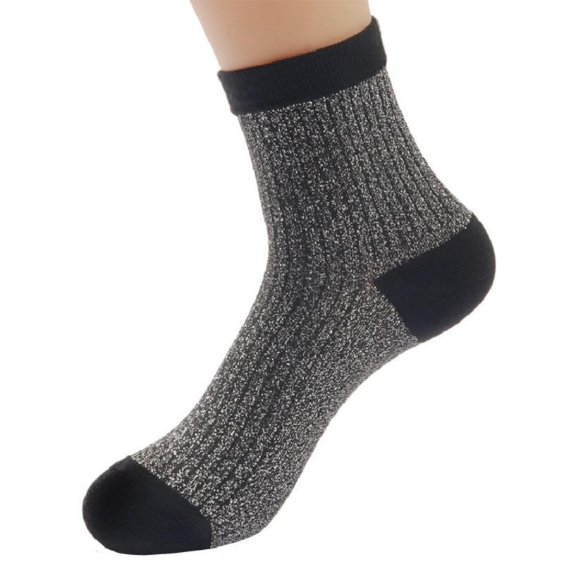 Fuzzy Blend Crew Socks (10 Pairs/Set)