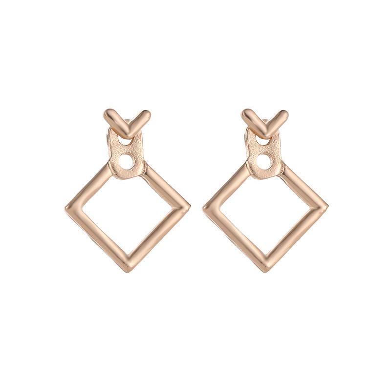 Lovely Geometric Stud Earrings for Trendy Looks
