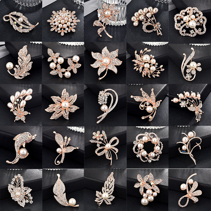 Swirling Luxe Designs Brooches for Cocktail Parties