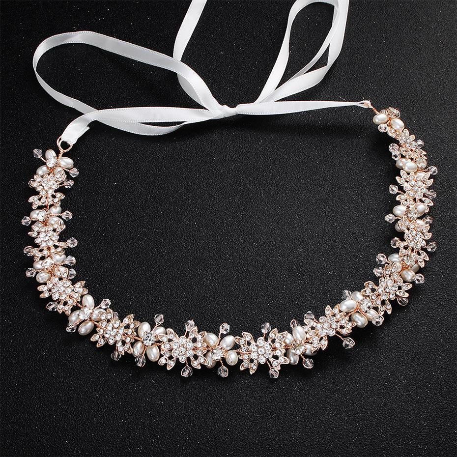 Elegant Rhinestone-Studded Alloy Headband for Wedding Accessories
