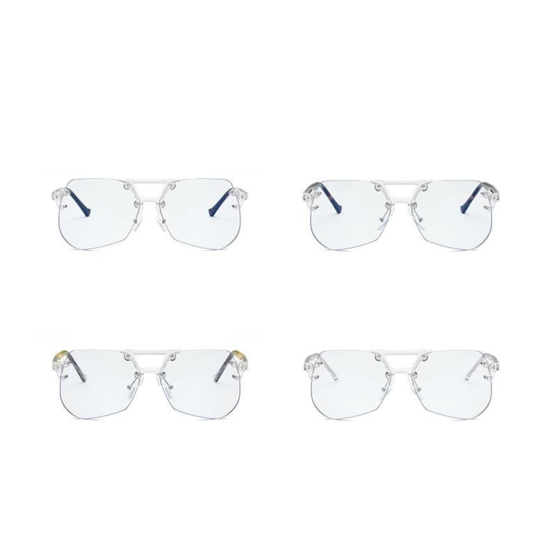 Smokey Frameless Sunglasses