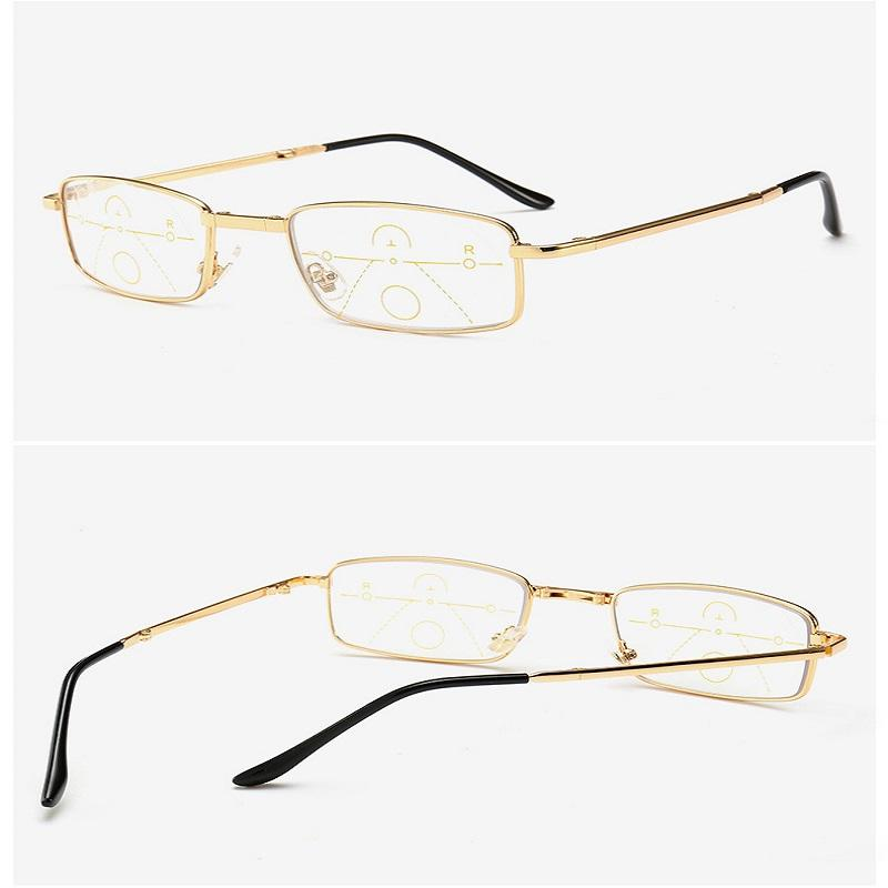 Foldable Multi-Focus Eyeglasses