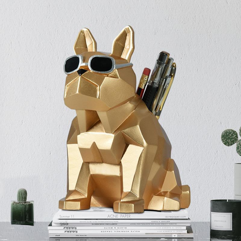 Cubic Bulldog Table Topper