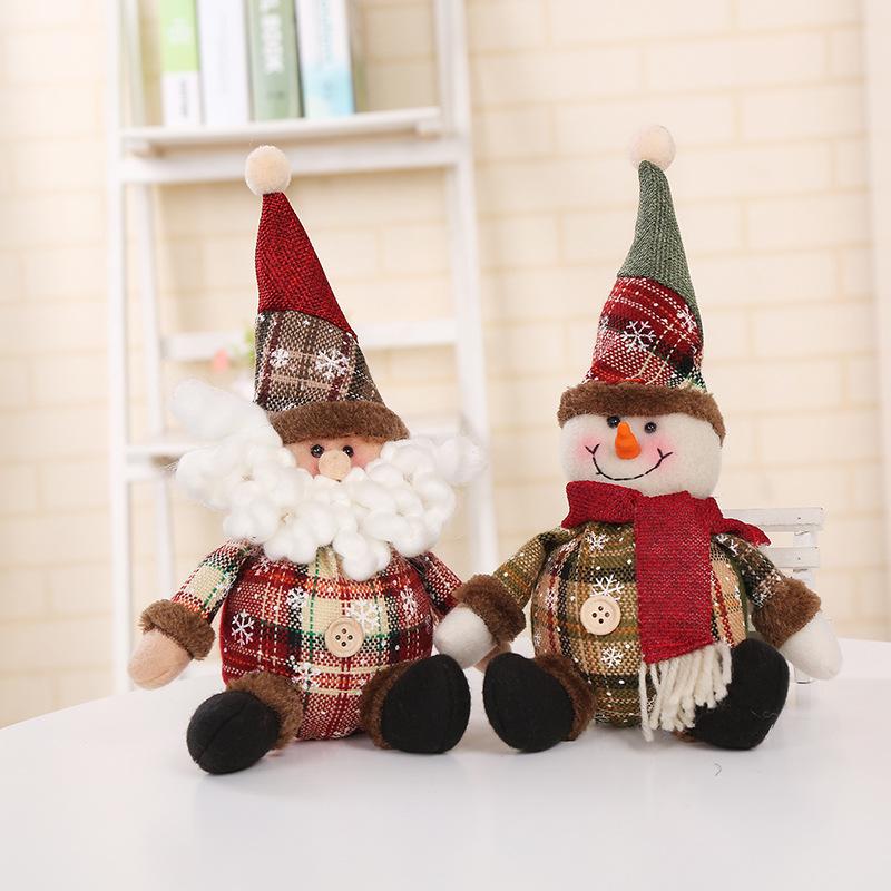 Fluffy Christmas Designed Cloth Decoration for Holiday Season