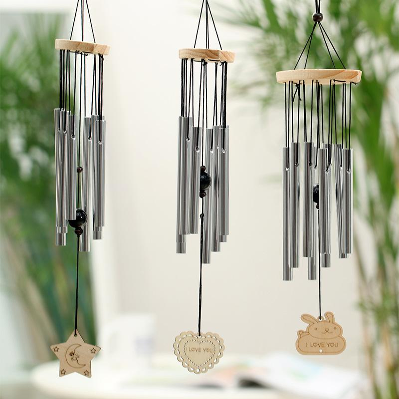 Eight Metal Tubes Wind Chime