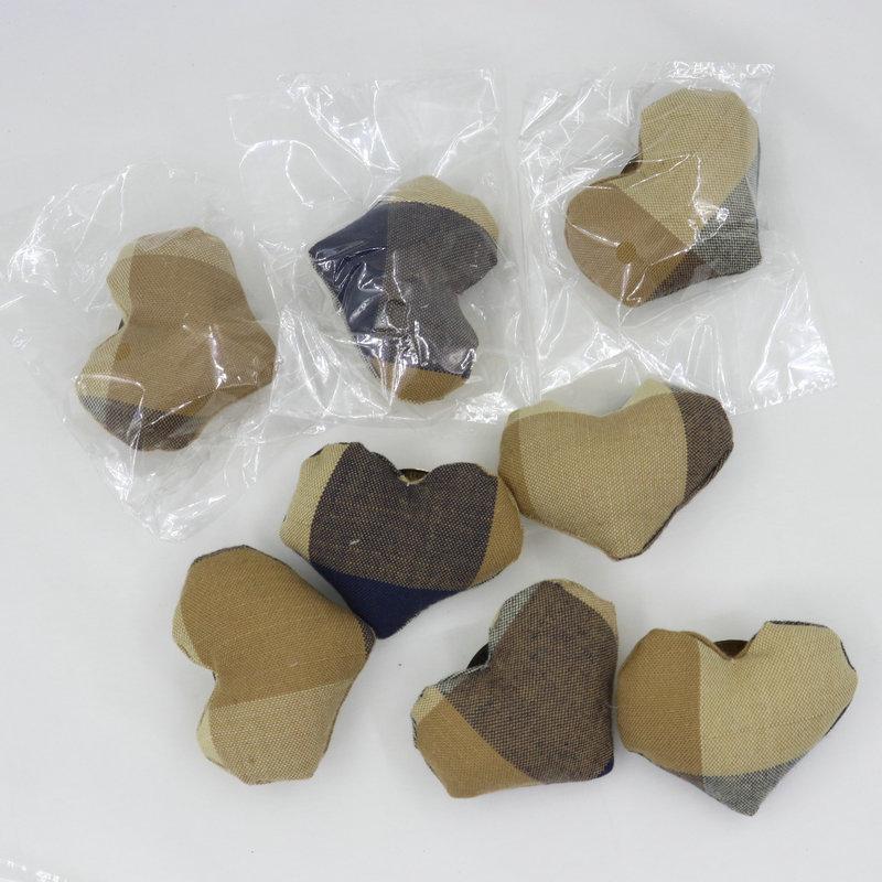 Patchwork Heart Pins