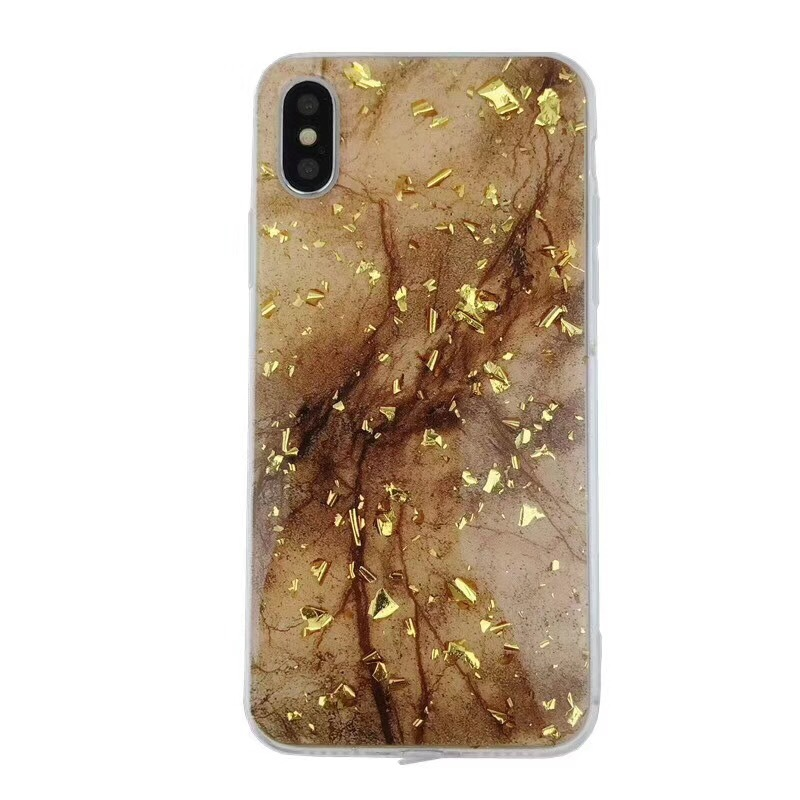 Gold Flakes Mobile Case for iPhone