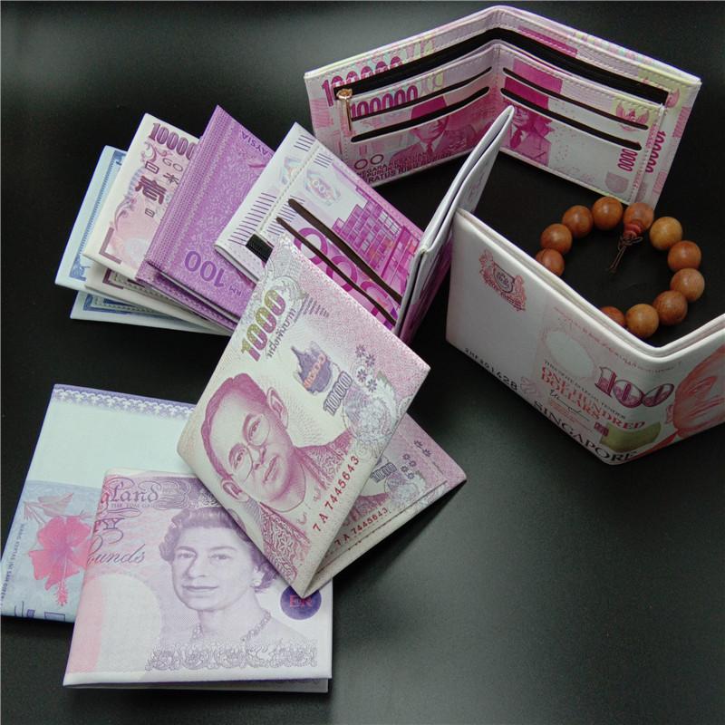 Unique Money Designed Wallet for Gifts