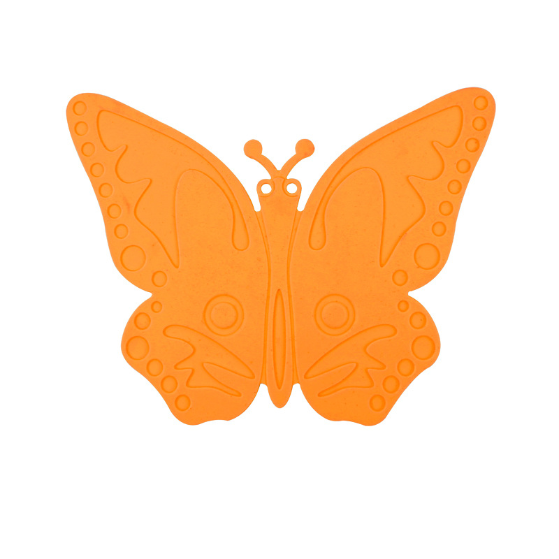 Vibrant Butterfly Shape Coaster for Creative Home Items