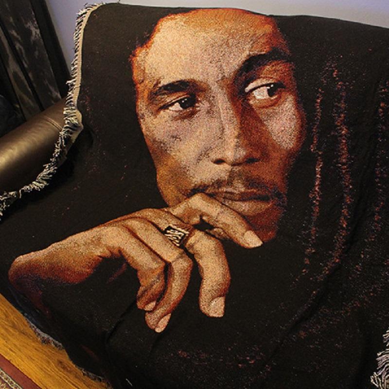 Bob Marley Throw Blanket