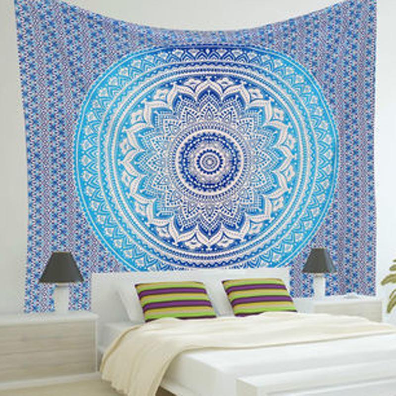 Luminous Mandala Tapestry