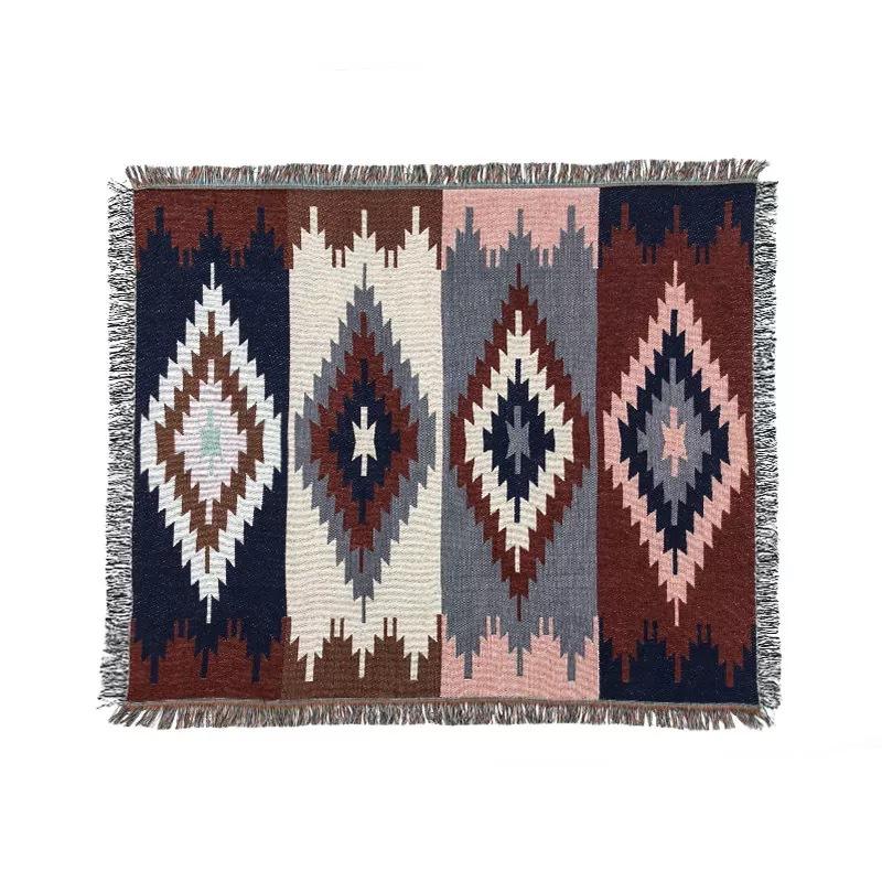 Diamond Boho Pattern Tapestry