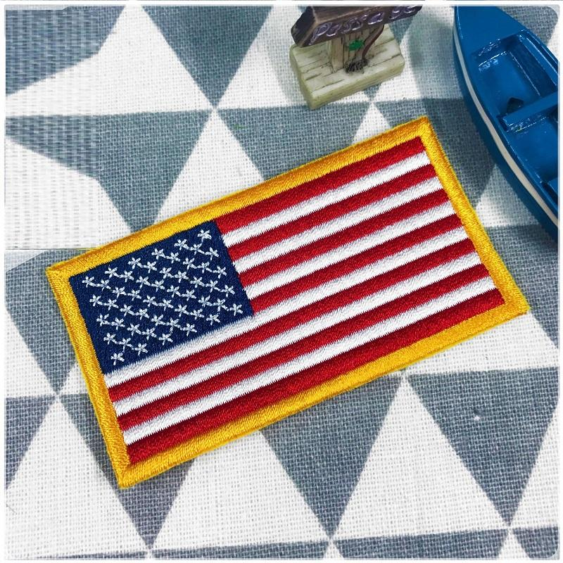 Adhesive Flag Patch