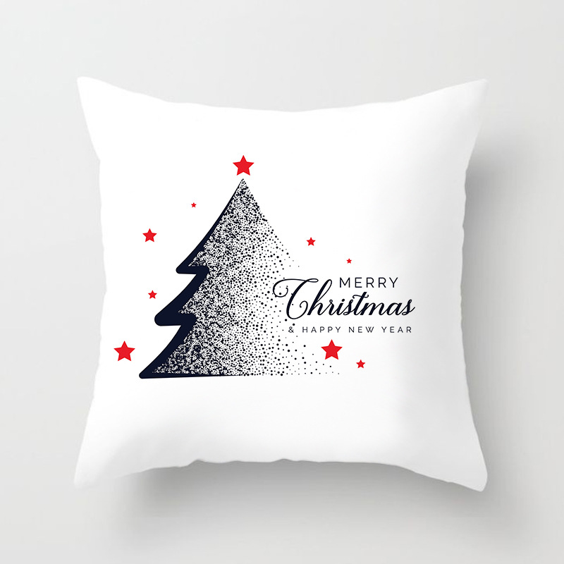 Christmas Themed Pillow Cover for Throw Pillows
