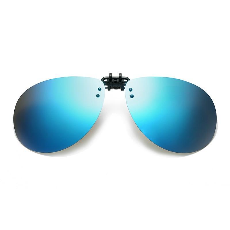 Gradient Clip On Sunglasses