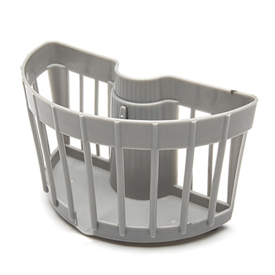 Hollow Buckle Shower Hanging Basket Rack Drain for Putting Soaps and Scrubs While Showering