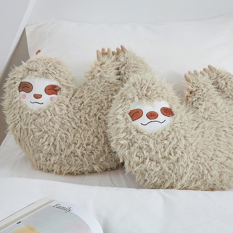 Furry Sloth Lazy Companion Plushie