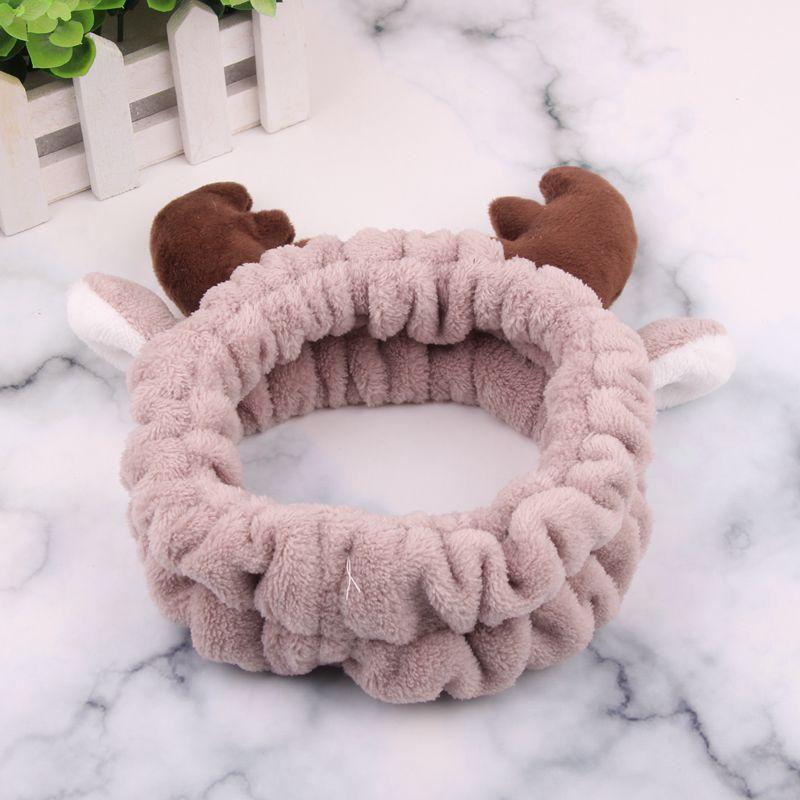 Brown Reindeer Beauty Headband