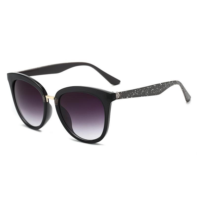 Glittery Temple Wayfarer Sunglasses