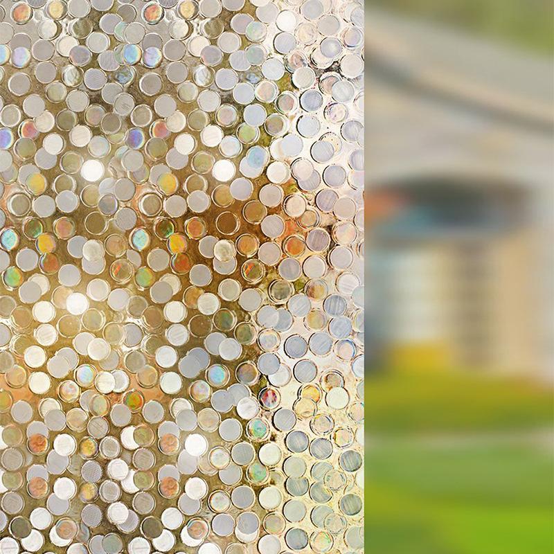 Circular Sequin Glass Film