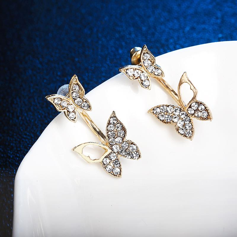 Double Butterfly Earrings