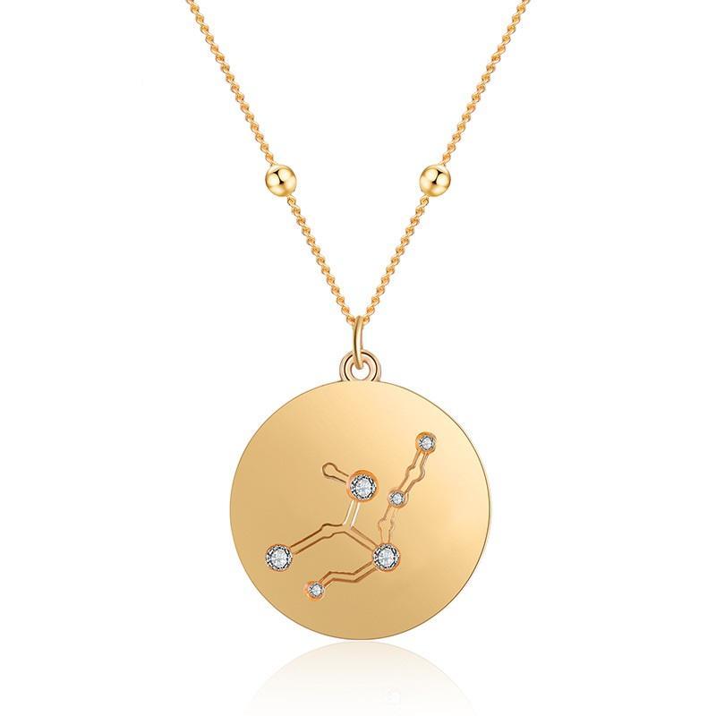 Horoscope Pendant Necklace