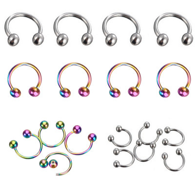 Fashionable Stainless Steel Nose Ring Piercing for Stylish Accessories