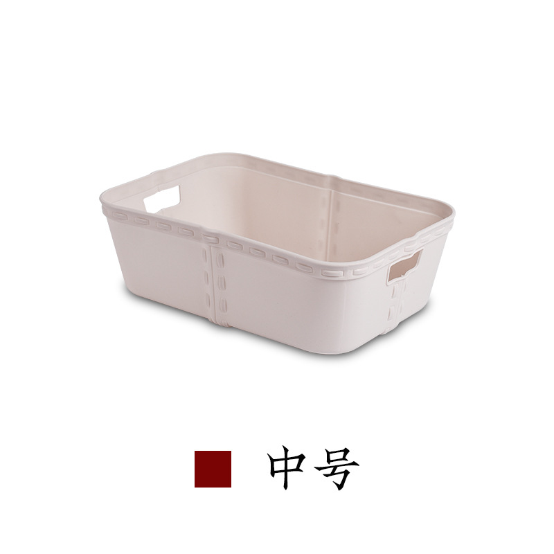 Desk Square Storage Box for Organizing Table Clutter