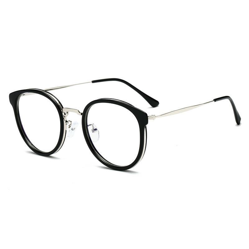 Emphasized Rim Round Sunglasses