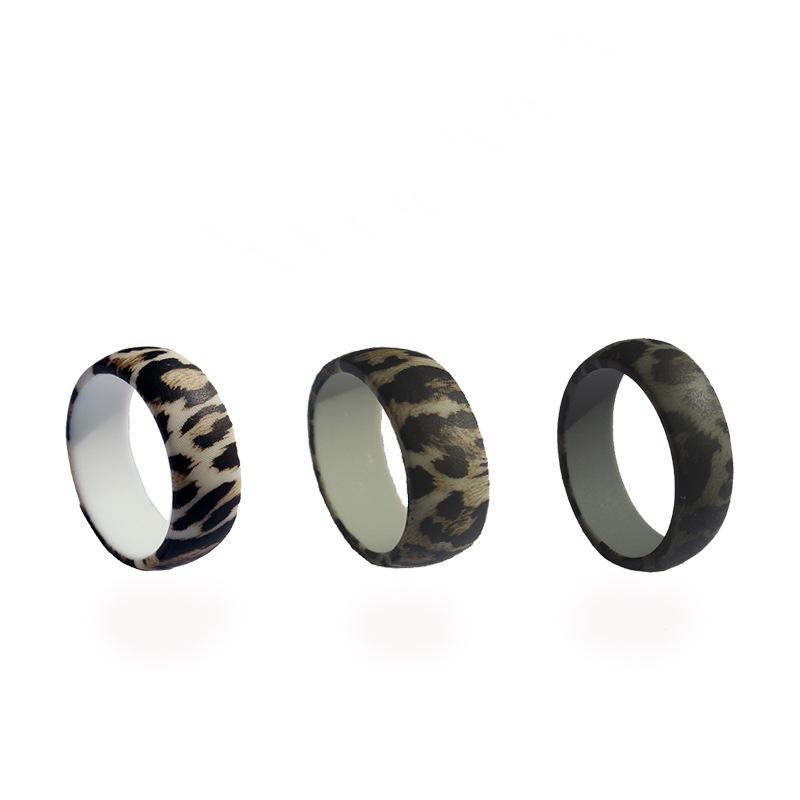 Leopard Print Silicone Ring