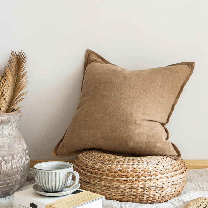 Comfy Monochrome Pillow for Bedroom