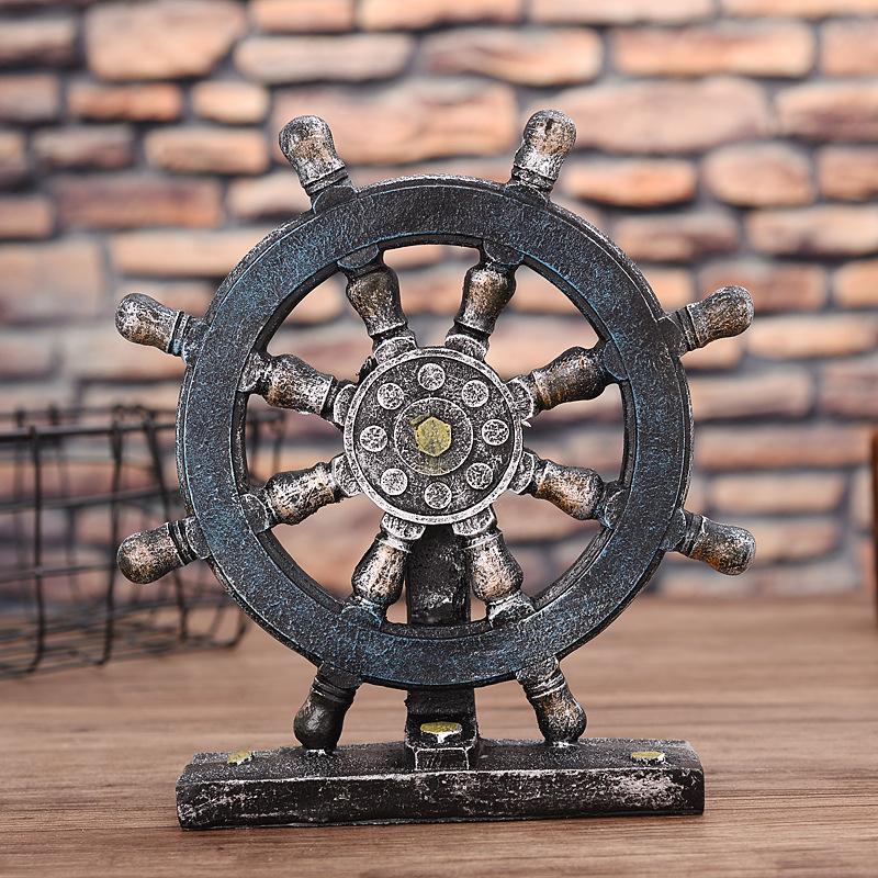 Sailor's Ship Wheel Home Decor