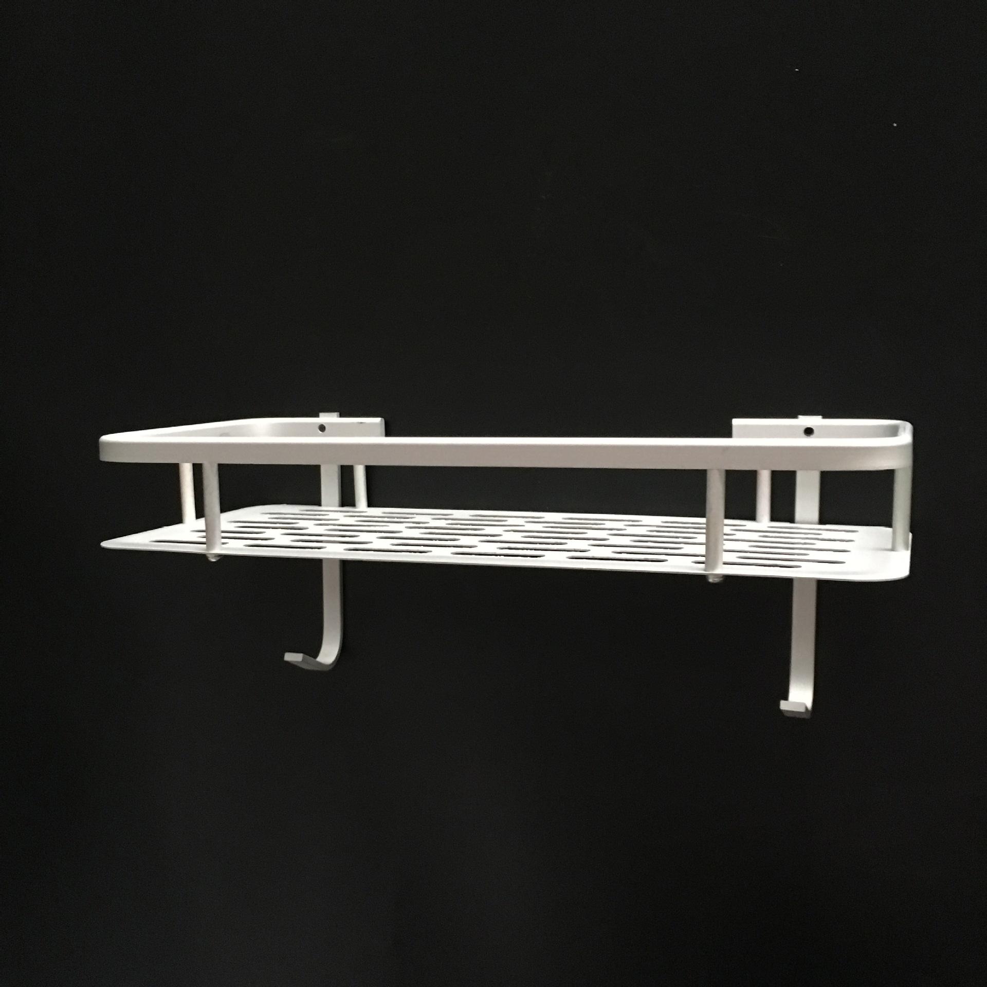 Rectangular Aluminum Toiletries Rack