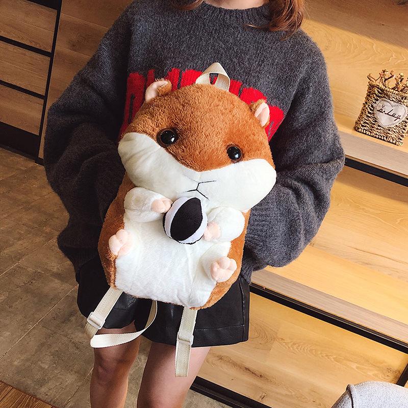 Adorable Hamster Plush Hand Warmer for Kids