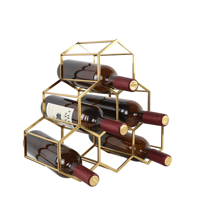 Stylish and Creative Wine Rack for Organizing and Storing Your Champagne Bottles