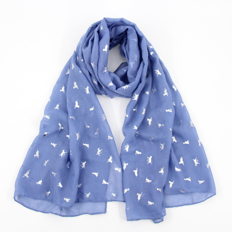 Classic Animal Printed Pattern Scarf for Fashion Style