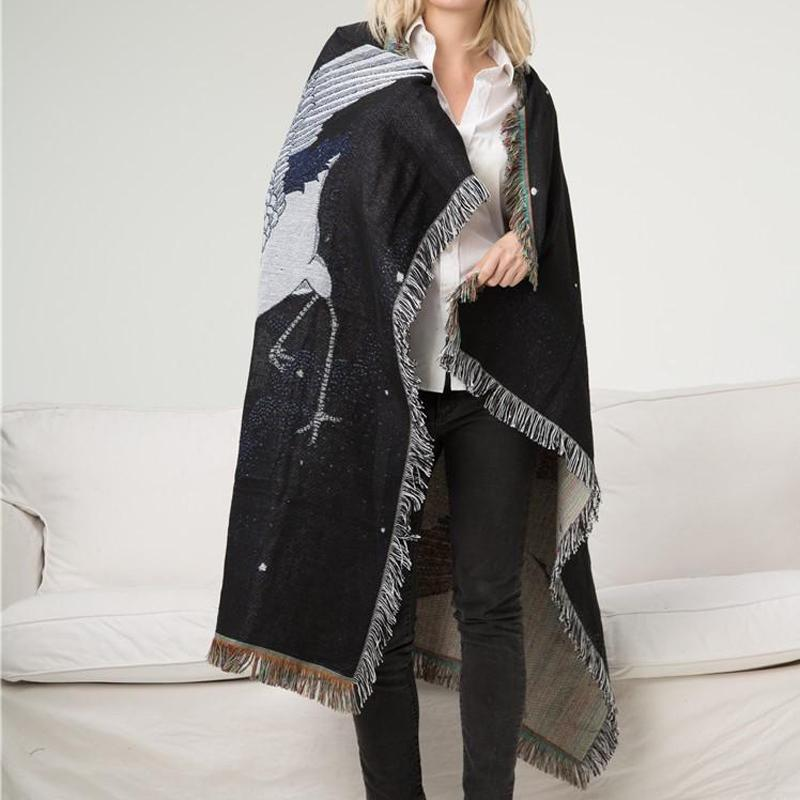 Crane Throw Blanket