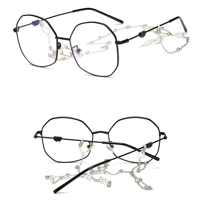 Metallic Chained Eyeglasses