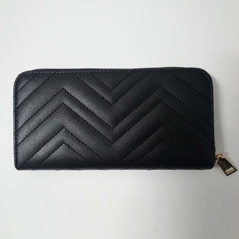 Zigzag Stitching Wallet