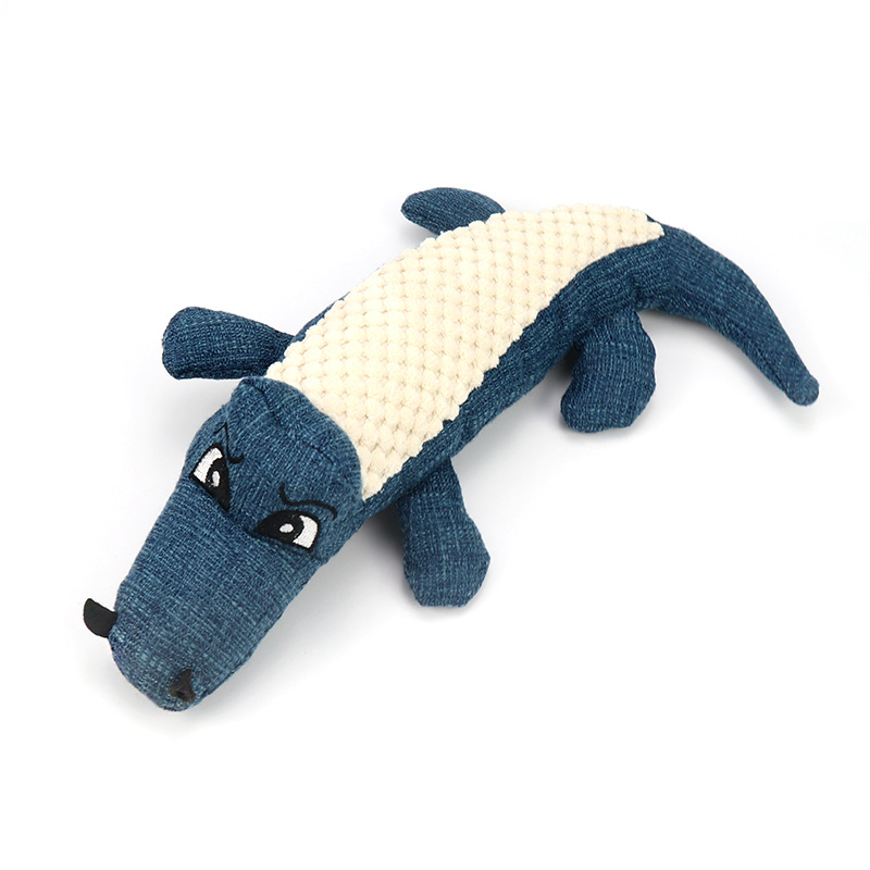Plush Crocodile Pet Toy