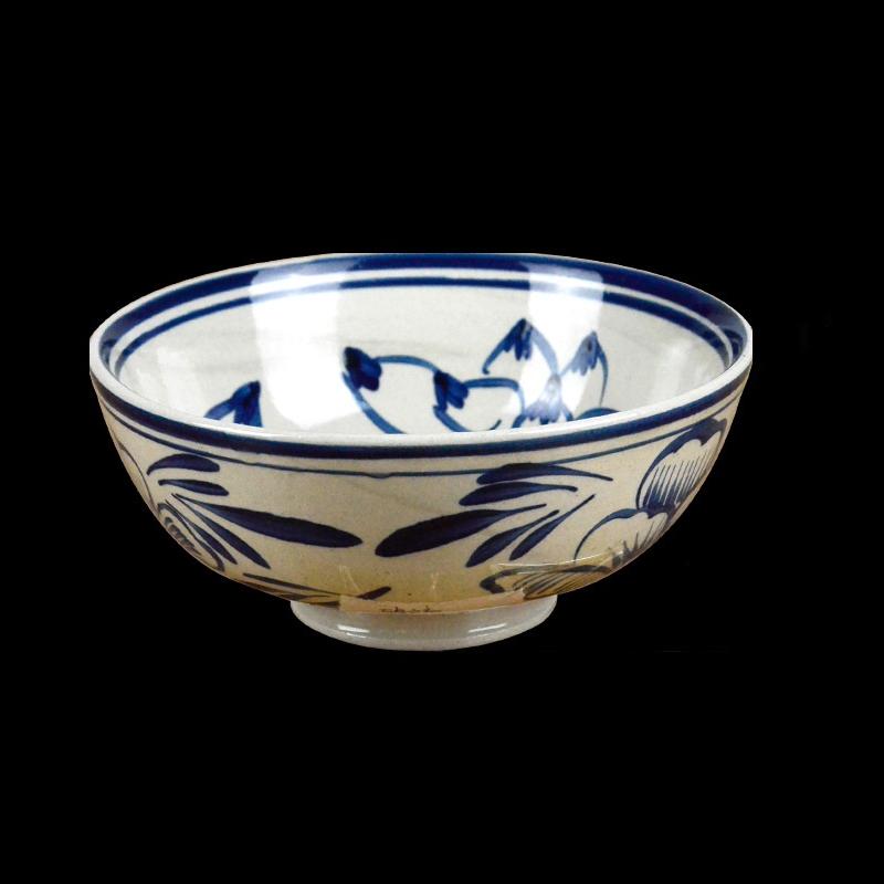 Ceramic Lotus Designed Bowl