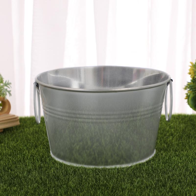 Wide Iron Bucket