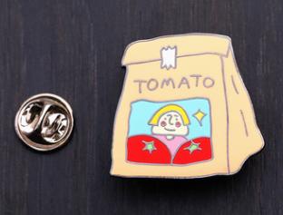 Tomato Lapel Pin
